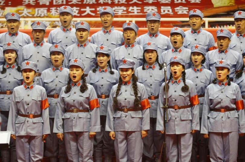 十送红军混声合唱谱子